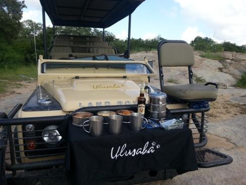 Morning coffee on safari with Ulusaba