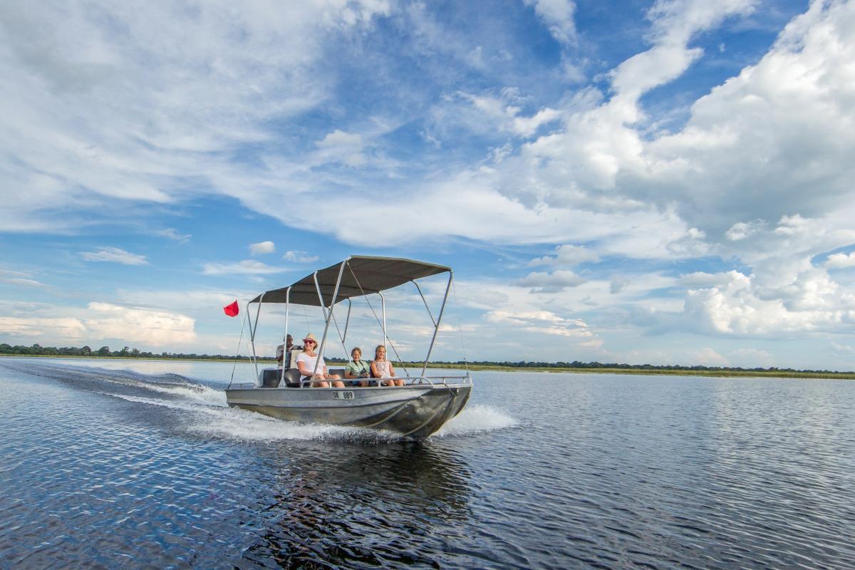Camp-Moremi-Boating