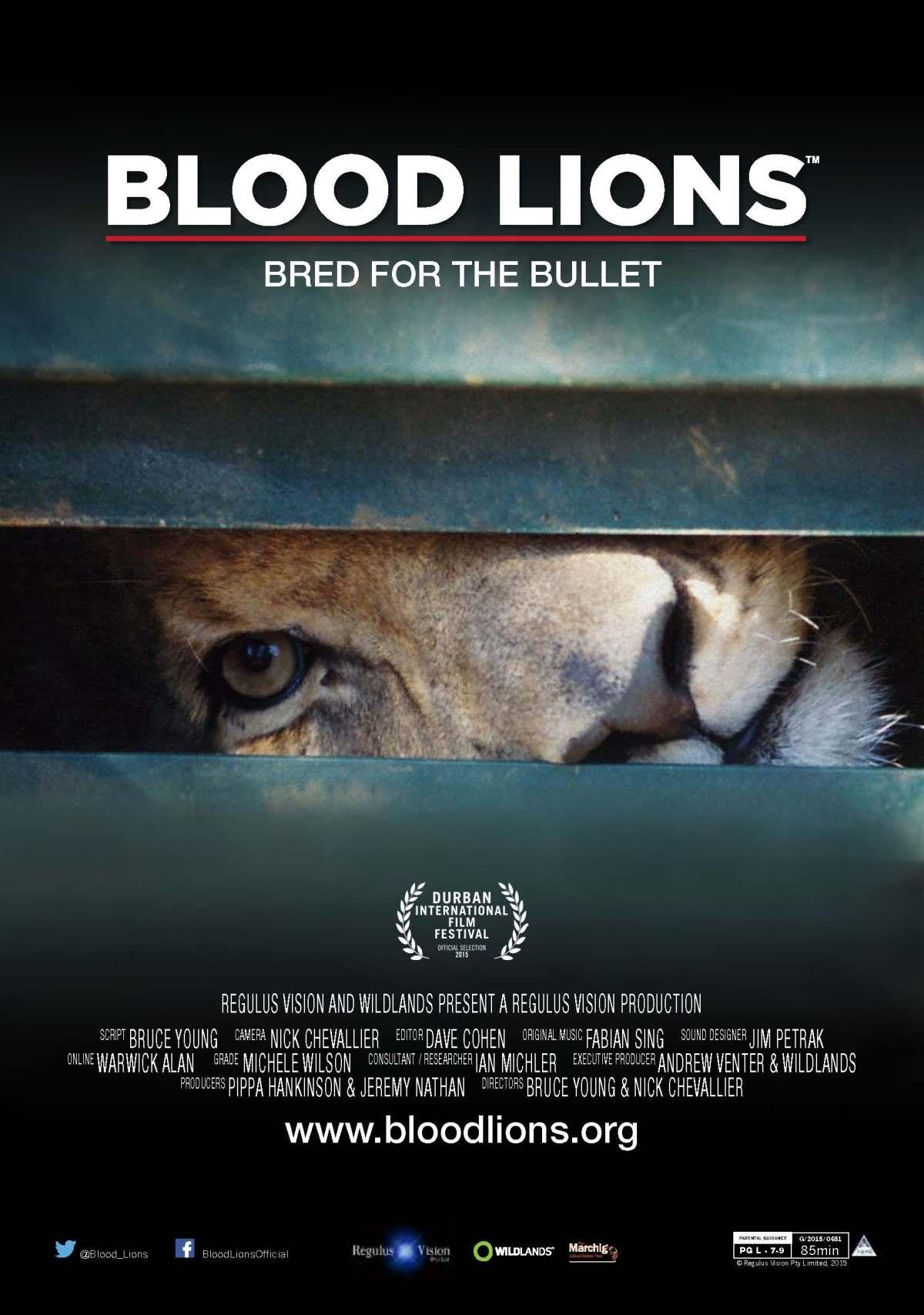 Blood Lions Instagram