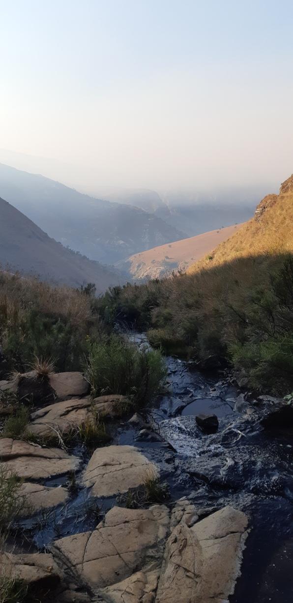 View from Mahai Falls