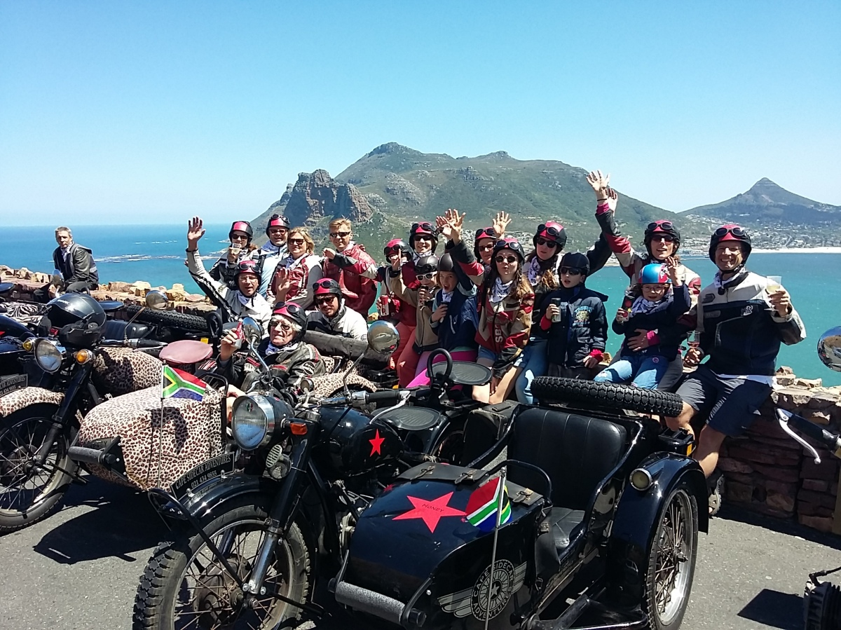 Family Outing. Chapmans Peak