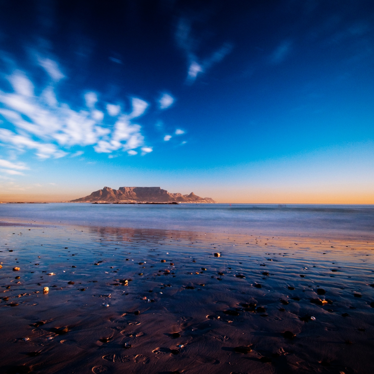 View of table Mountain