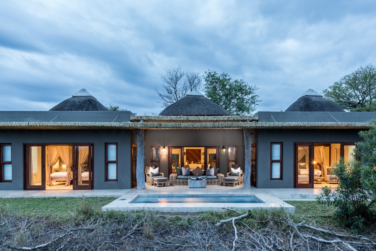 Bush Lodge - Luxury Villa Exterior