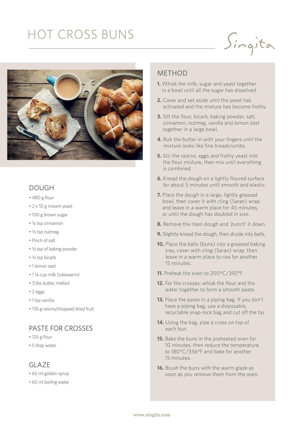 Singita-Easter-recipe-Hot-Cross-Buns